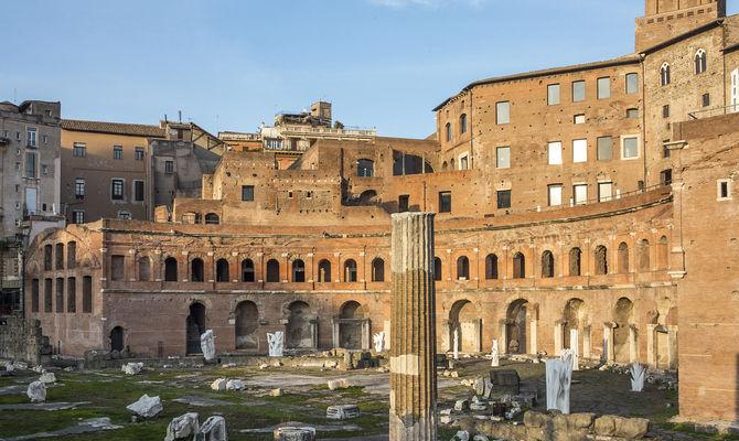 Roma, tour virtuale ai Mercati di Traiano