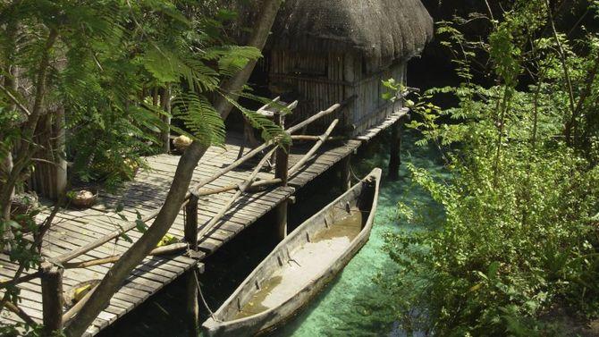 Lo yucatan dei maya e delle immersioni for Piccoli progetti di palafitte