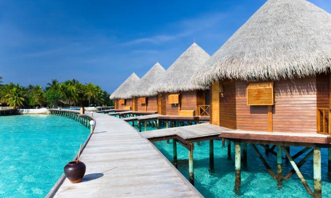 div>Alle Maldive con Alessia Marcuzzi: il rifugio felice dei ...