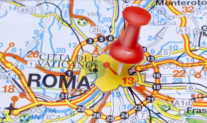 Cartina Della Roma.Roma Come Non L Avete Mai Vista