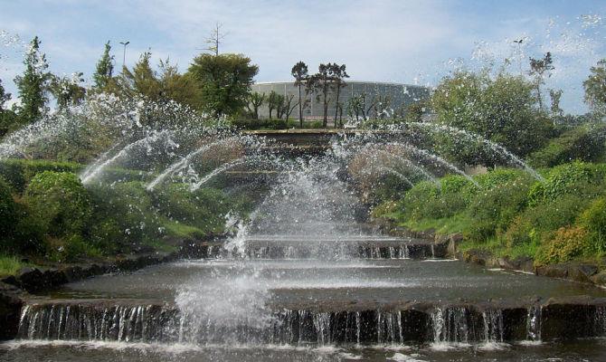 Giardino Delle Cascate Roma.Parco Centrale Del Lago Il Giappone A Roma