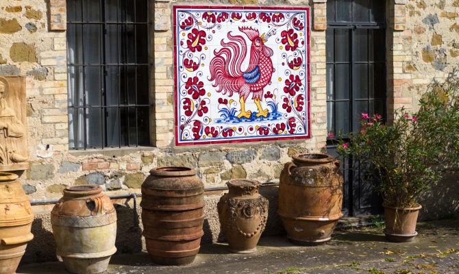 Ceramica Umbra San Giuseppe.Cosa Rende Speciali Le Maioliche Di Deruta