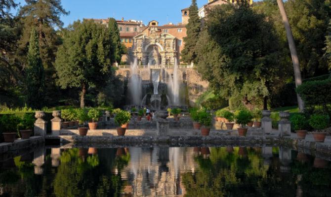Villa d este a tivoli i giardini più spettacolari