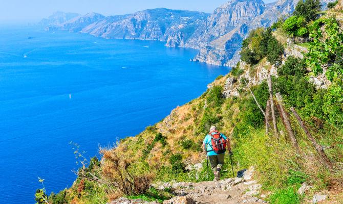 Trekking sul sentiero degli dei in costiera amalfitana for Due giorni in costiera amalfitana