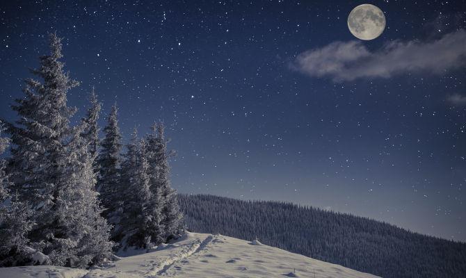 Reinswald, in slitta al chiaro di luna