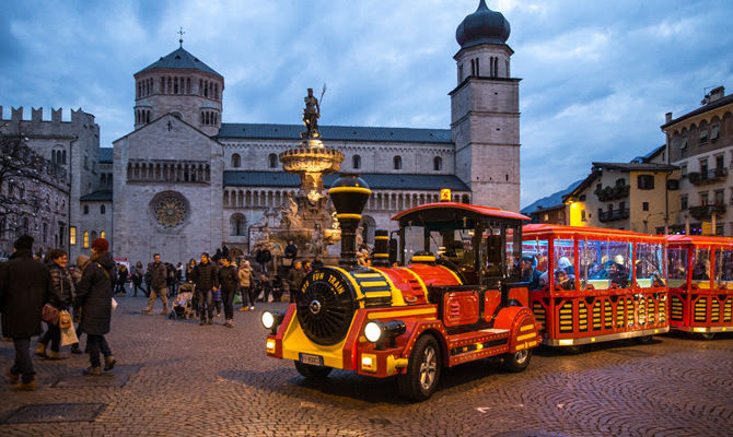 Natale A Trento.Il Mercatino Di Natale Di Trento Si Fa Green