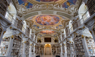 Austria Admont Abbey Library
