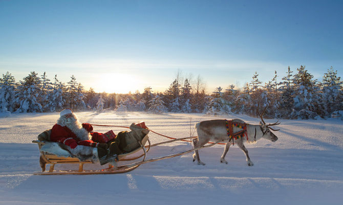 Immagini Natalizie Lapponia.Lapponia I Luoghi Piu Suggestivi Di Babbo Natale
