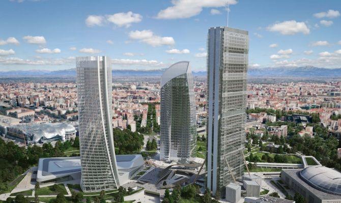 Il nuovo skyline di milano punta in alto for I nuovi grattacieli di milano