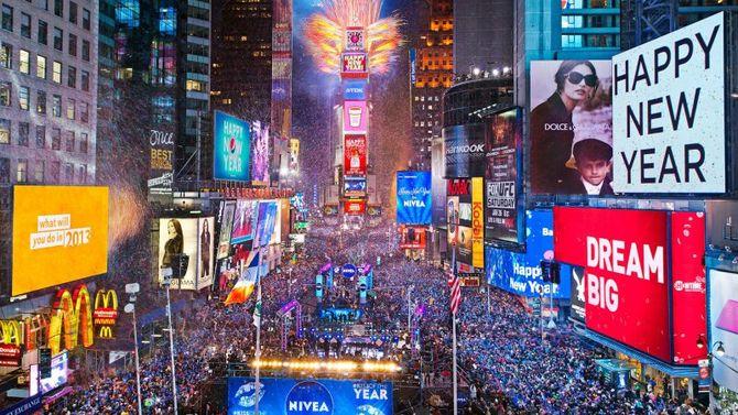 Capodanno 2016 londra new york sydney le citt piu belle for Time square londra