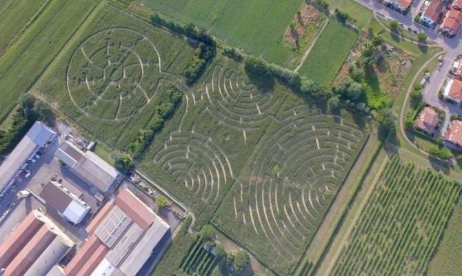 Alfonsine il labirinto effimero e dinamico for Labirinto alfonsine