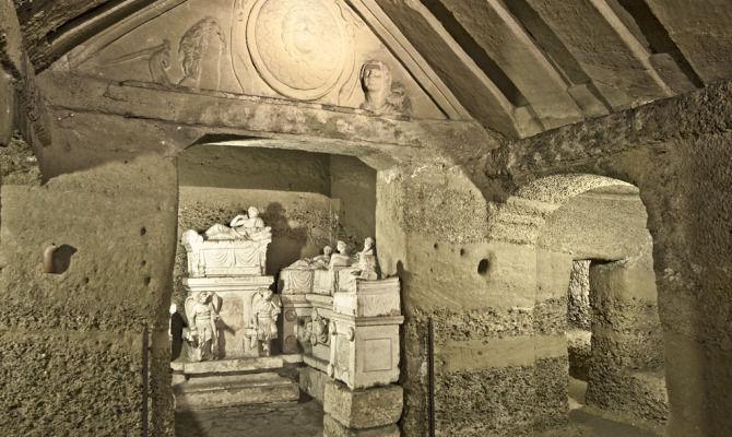 Perugia tomba Etrusca